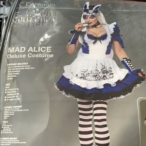New Mad Alice Deluxe Costume